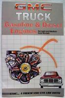 1985 GMC TRUCK ENGINES DEALERS ADVERTISING SALES BROCHURE GUIDE VINTAGE