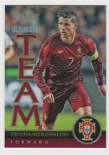 2015-16 Panini Select Soccer Ultimate Team Red Cristiano Ronaldo 001/199