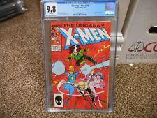 Uncanny X-Men 218 cgc 9.8 Marvel 1987 Longshot Rogue cover WHITE pgs NM MINT