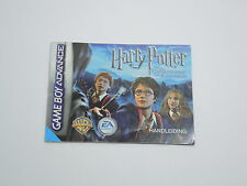 HARRY POTTER & THE PRISONER OF AZKABAN manual Nintendo Game Boy Advance DUTCH