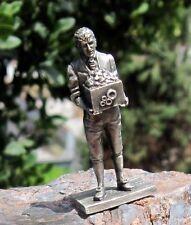 "Vintage Franklin Mint Pewter Nhs Series 1765-1825 ""Eli Whitney"" Figure W/Cotton"