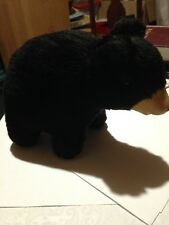 Vintage Black Bear rubber face, glass eyes 6 inches tall