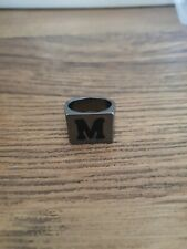 Personalised Ring Letter M