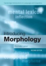 Cambridge Introductions to Language and Linguistics: Introducing Morphology...