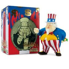Uncle Scam Red White & Blue Medium Art Figure by Ron English x Kidrobot