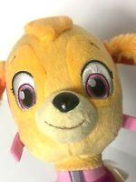 """Paw Patrol Skye Plush Dog 9"""" Stuffed Animal Spin Master Nickelodeon Toy Puppy"""