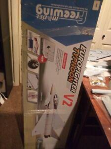 Freewing EUROFIGHTER TYPHOON V2,  FJ3011-V01 RC JET