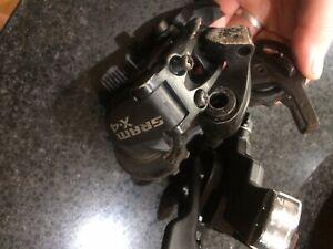 Mountain Bike Parts Gearing  SRAM rear derailleur And Shifter 7 Speed