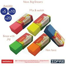 Gomz Novelty Rubbers Pack Of 4 Erasers For Schools Kids Random