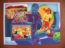 BLOC NEUF FOOTBALL GUINEE  2007 - MINT SHEET SOCCER GUINEA 2007