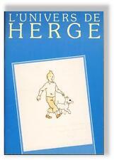 Tintin Univers de Herge expo Steeman 1983