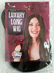 Party Time - Luxury Long Wig - Black Straight Hair - Brand New