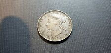 1870 Canada 25 Cents Silver Quarter Nicer Coin