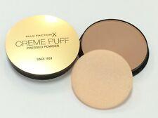 Max Factor Creme Puff Pressed Powder Compact #42 Deep Beige