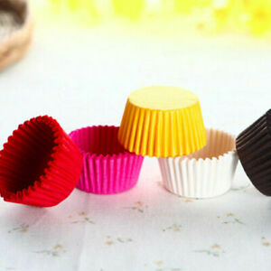 Professional Quality Paper Muffin Cupcake Baking Cases -Available in All Colours