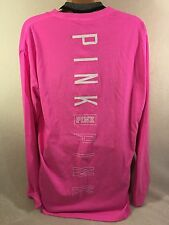 VICTORIA'S SECRET PINK CAMPUS POCKET TEE SHIRT PINK SM   2016