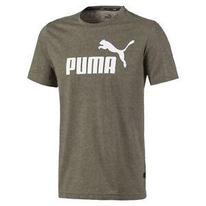 PUMA Men's Essentials+ Heather Tee