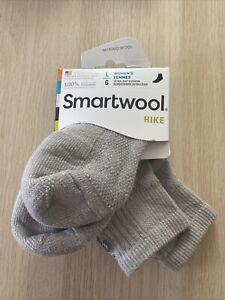 SmartWool Women's Hike Ultra Light Mini Socks (Gray) Large