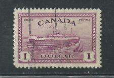 CANADA # 273 Used TRAIN, FERRY (4705)