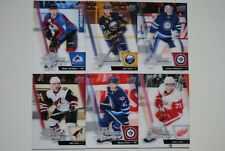 2015-16 15-16 Upper Deck Full Force Freshman 6 Card Lot Including Eichel Larkin