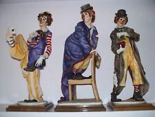 Giuseppe Armani Clowns Learned Clown 398E Musical Clown 401E Merry Clown 402E