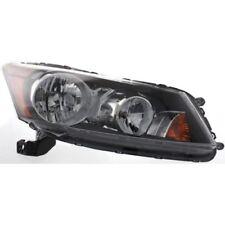 For Accord 08-12, CAPA Passenger Side Headlight, Clear Lens