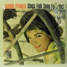 Connie Francis Sings Folk Song Favorites *good condition*