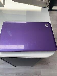 HP G6 LAPTOP IN Purple FAULTY