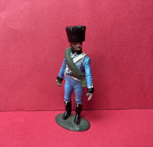 TRADITION STADDEN NAPOLEONIC FRENCH HUSSARS OFFICER LEAD METAL TOY SOLDIER