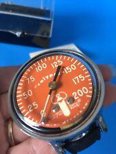Vtg Calypso Aqua Lung Divers Depth Gauge In Box w/ Manual Great Condition #7021