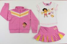 Nick Jr. Dora Cheerleading Outfit , Size 5 - Skirt, Jacket and Top