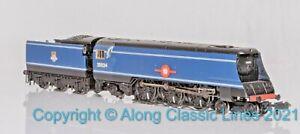 Graham Farish 372-310 ,N gauge, Merchant Navy Class loco, 35024 BR early blue