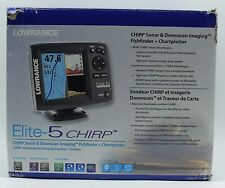 Lowrance Navigationsgerät Elite 5 Chirp Blank W/XD - EKK8.11