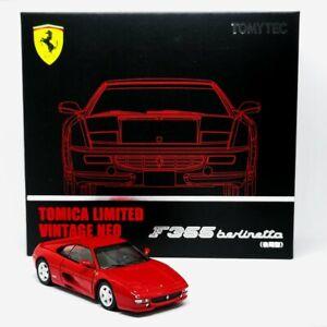 Tomica TLV Ferrari F355 Berlinetta Tomytec 1/64 Red Limited Edition