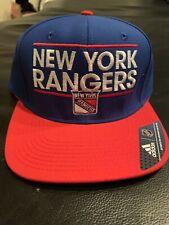 New York Rangers Adidas Adjustable Snapback Hat