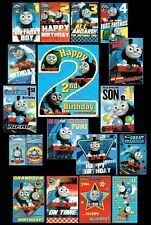 THOMAS THE TANK ENGINE - BIRTHDAY CARD - Great selection to choose from