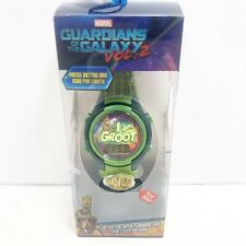 Guardians of the Galaxy Vol. 2 LCD Watch Flashing Dial Marvel, I Am Groot Green