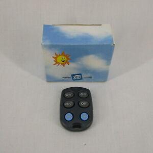 X-10 PowerHouse 2 unit Slim Fire Micro Remote Control KR19A
