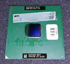 Procesador Intel Pentium III 1000 MHz Socket 370 SL52R Malay B Vintage CPU