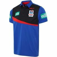 Newcastle Knights NRL Players ISC Polo Shirt Mens Sizes SMALL-LARGE ONLY! T7