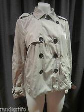 womens WITCHERY trench style coat jacket SZ 12