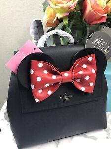 NWT Kate Spade PXRU8273 Disney Minnie Mouse Small Neema Backpack Bag Purse