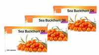 Sea Buckthorn Oil in capsules Natural Source of Omega-7  3 x 100  tab.