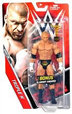 WWE Mattel Series 69 Raw Triple H HHH Figure w Bonus Slammy Award!