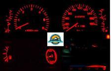 Toyota Landcruiser 80 series Dash 1990-1998 Red Lights LED Full kit + Bonus