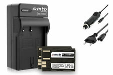 2x Baterìas BP-511 + Cargador para Canon MV600i, MV630i, MV650i, MV700, MV700i