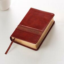 LARGE PRINT Leather Bible Book King James Version Leather Bound Holy Bible NEW