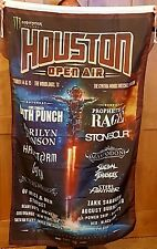 2017 Houston Open Air Lineup Flag Huge 3x5ft 5 Finger Stone Sour Rage Manson