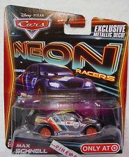 2014 Cars NEON Racers ✿MAX SCHNELL✿Metallic deco✿Disney Pixar
