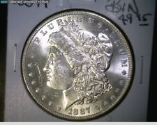 1887-P Morgan Silver Dollar - BU From Original Roll - 90% Silver